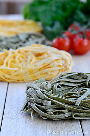 Italian Ingredients: Tagliatelle pasta