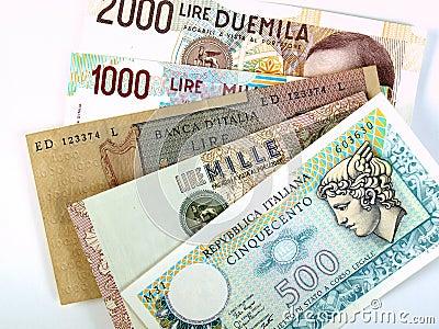 Italian liras