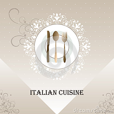Italian Menu Cover Stock Vector - Image: 43879173