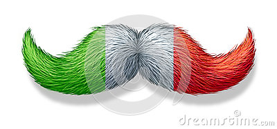 Italian Mustache Symbol Stock Images Image 33829374