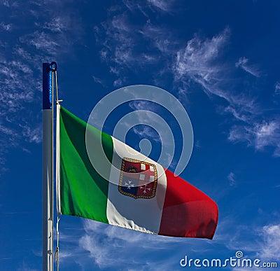 Italian navy flag