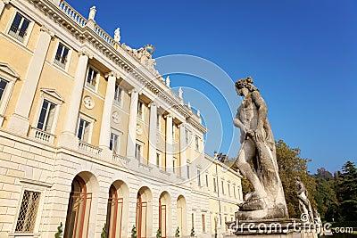 Italian neoclassic villa