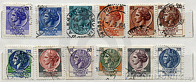 Italian old Stamps
