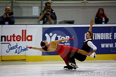 Italian overall 2009 Figure Skating Championships Editorial Image