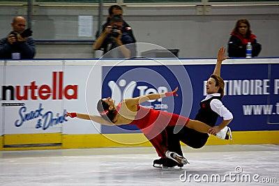 Italian overall 2009 Figure Skating Championships Editorial Image