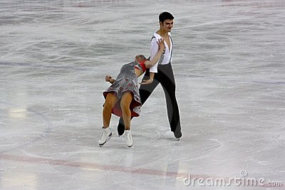 Italian overall 2009 Figure Skating Championships Editorial Photography