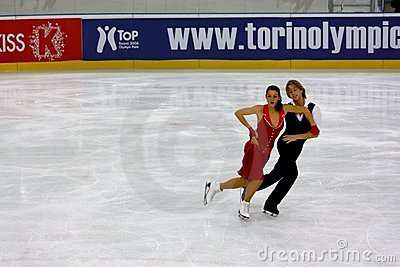 Italian overall 2009 Figure Skating Championships Editorial Photo