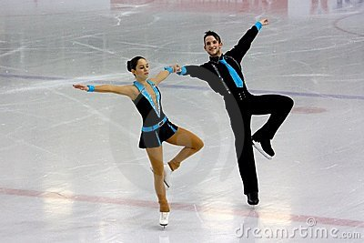 Italian overall 2009 Figure Skating Championships Editorial Stock Image