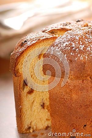 Italian Panettone Christmas Bread