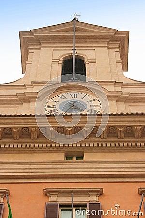 Italian Parliament tower