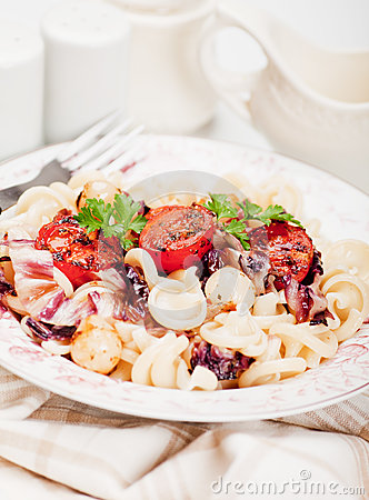 Italian pasta with cherry tomato