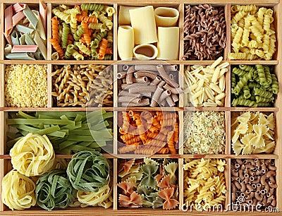 Italian pasta collection