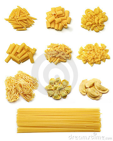 Free Italian Pasta Collection Stock Photo - 5018340