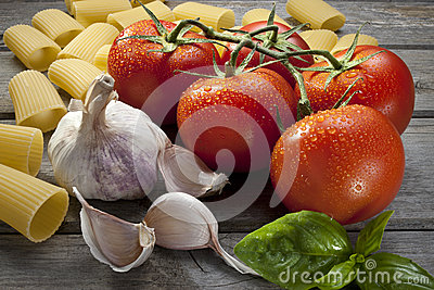 Italian Pasta Food Ingredients