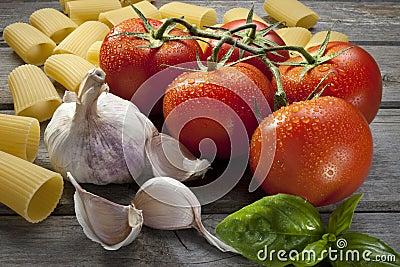 Italian Pasta Food Ingredients
