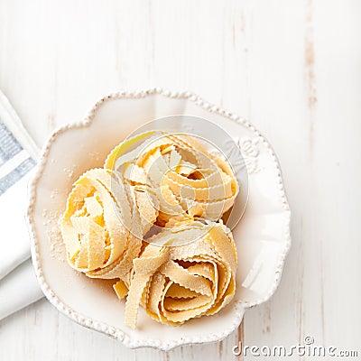 Free Italian Pasta In A Bowl Stock Photo - 22456480
