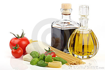 Italian pasta ingredients 1