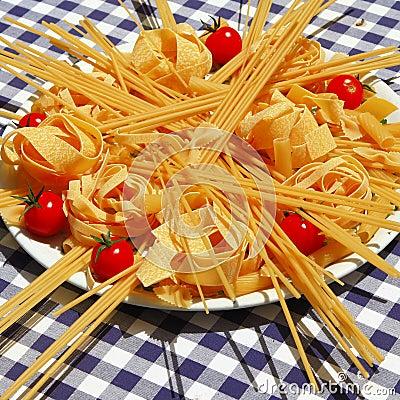 Free Italian Pasta. Still Life Royalty Free Stock Photography - 34078317