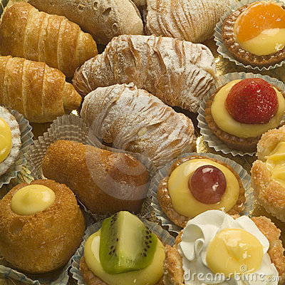 Free Italian Pastry Royalty Free Stock Photos - 1581728