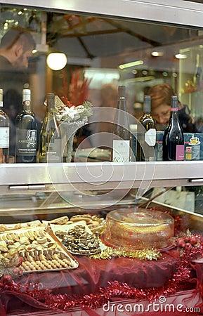 Italian pastry Editorial Stock Photo