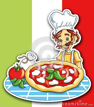 Free Italian Pizza Stock Photography - 19000542