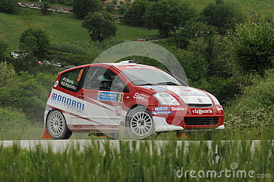 Italian Rally Championship Editorial Image