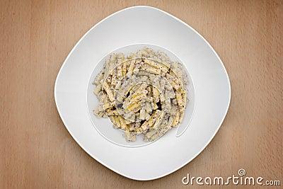 Italian recipe: Pasta with truffle sauce