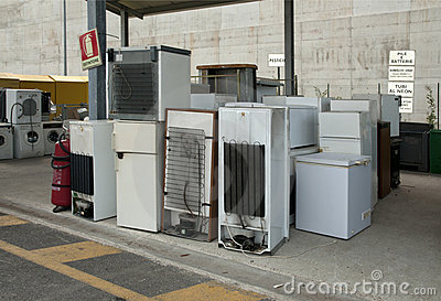 Italian Recycling center (Raee) - Appliances