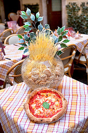 Italian restaurant - pizza and pasta