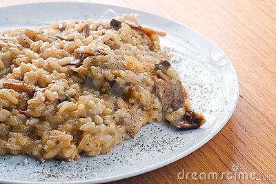 Italian Risotto with Porcini Mushrooms