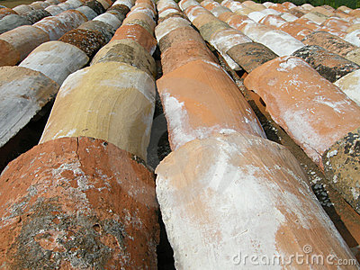 Italian roof tiles