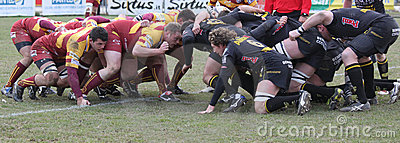 Italian Rugby Federation Cup Match Editorial Photo
