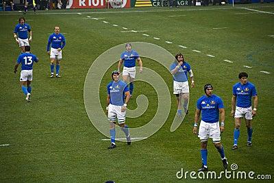 Italian rugby team