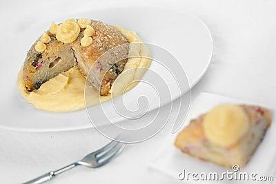 Italian salty Rice cake named Sartu di Riso