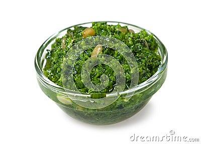 Italian sauce pesto