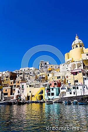 Free Italian Sea Coast, Procida, Naples Stock Image - 4720471