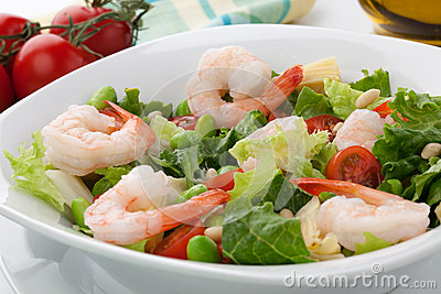 Shrimp And Fava Beans With Tomatoes And Kalamata Olives ...