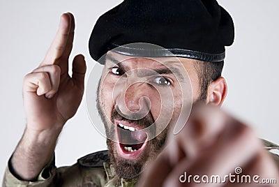 Italian soldier