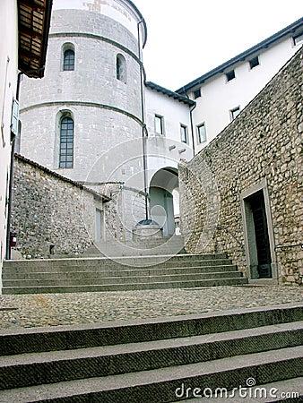 Italian Stairway in Cividale del Friuli