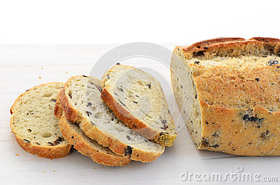 Italian three olive loaf