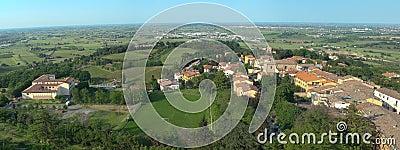 Italian town Bertinoro.
