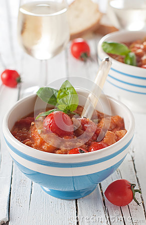 Italian traditional soup