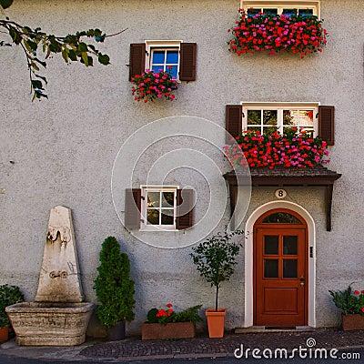 Italian Tyrol house