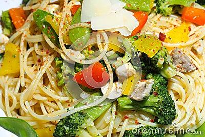Italian vegetable pasta