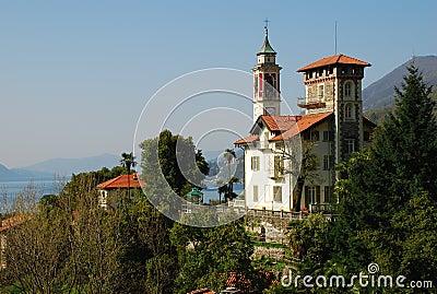 Italian villa in Cannero Riviera