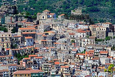 italian village, sicily