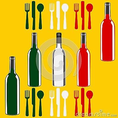 Italian Wine Menu Template