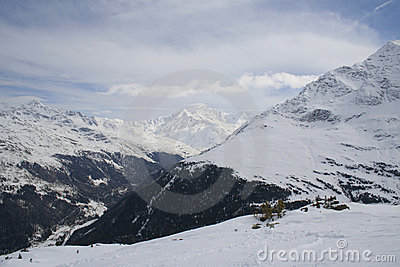 Italien Alps in winter