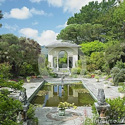 Free Itallian Garden, Ireland Stock Photography - 17007102