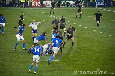 Italy - All Blacks Editorial Photography